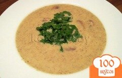 Фото рецепта: «Грибной крем-суп из шампиньонов»