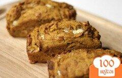 Фото рецепта: «Тыквенный хлеб с белым шоколадом»