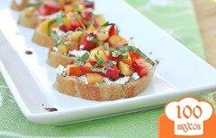 Фото рецепта: «Фруктовый бутерброд»