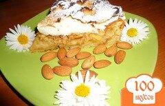 Фото рецепта: «Яблочно-миндальный пирог»