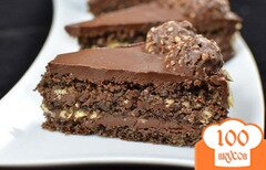 Фото рецепта: «Торт «Ферреро роше» (Ferrero rocher)»