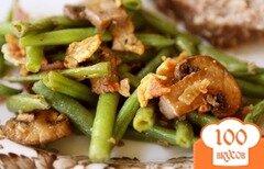 Фото рецепта: «Фасоль с грибами»