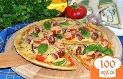 Фото рецепта: «Пицца на сковороде»