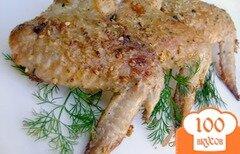 Фото рецепта: «Крылышки в горчичном маринаде с кунжутом»
