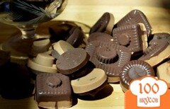 Фото рецепта: «Шоколадные конфеты с начинкой»