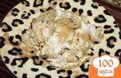 Фото рецепта: «Маковая курочка с крекером Ритц»
