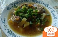 Фото рецепта: «Суп с интересным названием СОУЗ»