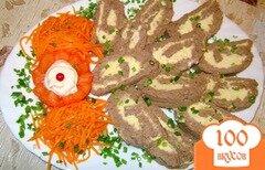 Фото рецепта: «Печёночный паштет «Тигровый»»