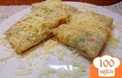 Фото рецепта: «Лаваш с овощами и сыром»
