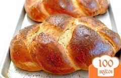 Фото рецепта: «Сладкий хлеб хала»