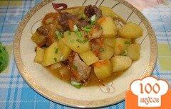 Фото рецепта: «Мясное жаркое с сухофруктами»