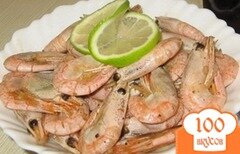 Фото рецепта: «Креветки с лимоном и соевым соусом»