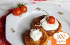 Фото рецепта: «Морковно-нутовые котлетки»