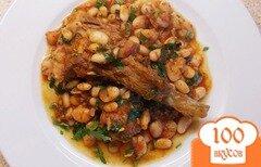 Фото рецепта: «Ребрышки с фасолью»