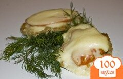 Фото рецепта: «Свинина, запеченная с помидорами»