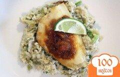 Фото рецепта: «Жаренная рыба с приправами и сальсой.»