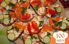Фото рецепта: «Овощные гренки»