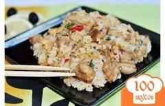 Фото рецепта: «Жареный рис со свининой»