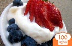 Фото рецепта: «Традиционное домашнее мороженое»