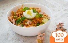 Фото рецепта: «Салат из овощей и грибов без заправки»