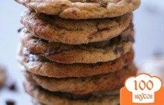 Фото рецепта: «Солодовое печенье с шоколадом»