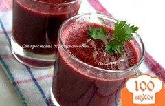 Фото рецепта: «Гаспачо со свеклой и вишней»