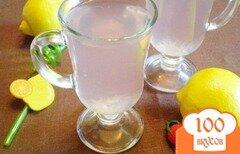 Фото рецепта: «Лимонный компот с суданской розой»