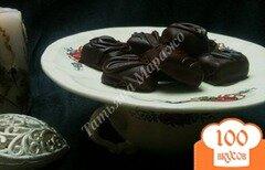 Фото рецепта: «Конфеты из мягкой карамели в шоколаде»