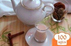 Фото рецепта: «Пряный зелёный чай»