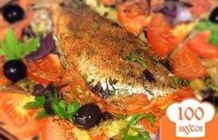 Фото рецепта: «Морской окунь запеченный»