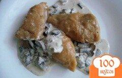 Фото рецепта: «Голубцы с мясом и грибами»