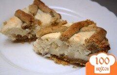Фото рецепта: «Будайский творожный пирог»