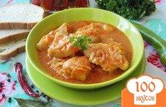 Фото рецепта: «Филе хека в томатном соусе»
