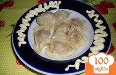 Фото рецепта: «Пельмени с мясом и капустой на пару»