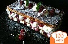 Фото рецепта: «Mille-feuille - Мильфей с кремом из маскарпоне»