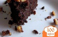 Фото рецепта: «Брауни с орехами»