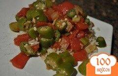 Фото рецепта: «Бамия с помидорами»