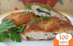 Фото рецепта: «Отбивная из куриной грудки»