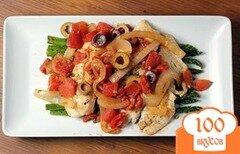 Фото рецепта: «Тилапия по-средиземноморски»