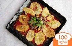 Фото рецепта: «Картофель барбекю»