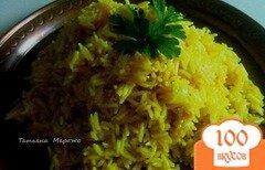 Фото рецепта: «Рис с айвой (гарнир)»