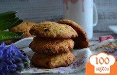 Фото рецепта: «Кокосово-шоколадные коржики»