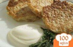Фото рецепта: «Сырно-картофельные оладьи»