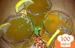 Фото рецепта: «Пунш с медом и лимонным соком»
