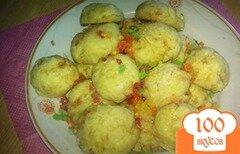 Фото рецепта: «Печенье с карамелью»