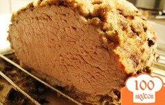 Фото рецепта: «Запеченная свинина с хлебной корочкой»