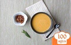 Фото рецепта: «Картофельный суп с беконом и розмарином»