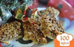 Фото рецепта: «Ореховый тройной десерт»