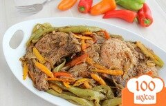 Фото рецепта: «Жареное мясо на сковороде»