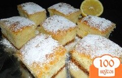 Фото рецепта: ««Ревани» - турецкий пирог в сиропе»